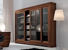 bookshelf 3 sliding glass doors art collection