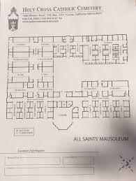 catholic church floor plan designs holy cross catholic cemetery in colma california find a grave