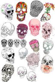 best 25 sugar skull tattoos ideas on pinterest arm tattoos day