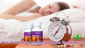Obat Tidur Herbal sleep care capsule green world obat susah tidur insomnia