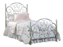 bed frame frames king headboard vintage wrought full size frame