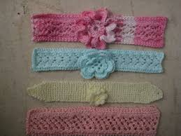 crochet baby headbands ravelry easy knit baby headbands with flowers pattern by myrtie