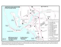 Cape Coral Florida Map Repeater Map Fmarc