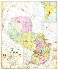 Asuncion Paraguay Map Official Map Of Paraguay Paraguay U2022 Mappery
