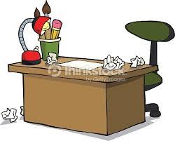 bureau dessin dessin animé tableau concepteur clipart vectoriel thinkstock