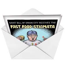 humorous birthday cards fast food stigmata birthday card