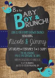 baby brunch invitations baby shower invitation ideas for boys jagl info