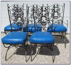 Antique Rod Iron Patio Furniture by Antique Wrought Iron Patio Furniture Cushions Patios Home