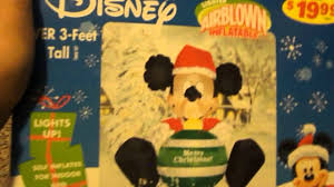 2005 mickey mouse inflatable youtube