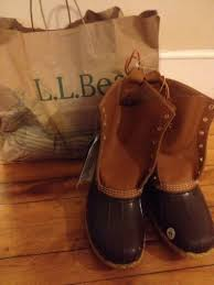 womens ll bean boots size 9 ll bean s 8 duck boots mens size 9 womens 11 nwt signature