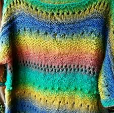wool chunky sweater loose fit sweater clothing gift rainbow