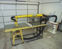 Table Saw Dust Collection by Peter U0027s Model Railroading Articles Table Saw Overarm