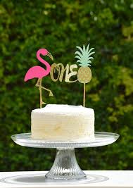 flamingo one cake topper1st birthday cake topperlets