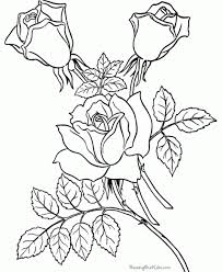 printable coloring pages for adults flowers flowers coloring pages for and for adults coloring home