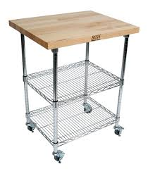 john boos butcher block chrome metro kitchen cart boos wire cherry butcher block cart