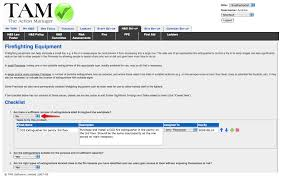 fire risk assessment template on the action manager the health