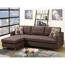 Leather Chaise Sofa Chaise Sofa Sectional Sofas You Ll Wayfair