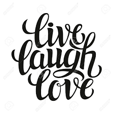 Live Love And Laugh by Hand Drawn Typography Poster Inspirational Quote U0027live Laugh