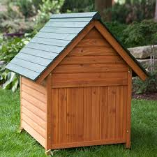 amazon com extra large outdoor dog house dog kennel 40w x 44d x