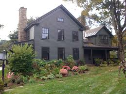 new england farmhouse like the windows and chimney for a