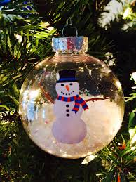 homemade ornaments so cute and super easy buy plastic balls at