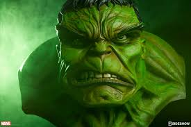 marvel incredible hulk size bust sideshow collec