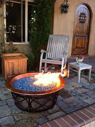 Glass Fire Pits by Electric Blue Reflective Diamond Fire Pit Glass 100 Lb Supersack