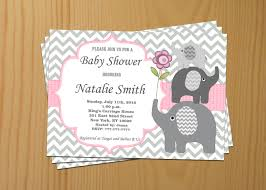 pink owl baby shower invitations baby shower invitation baby shower invitation elephant