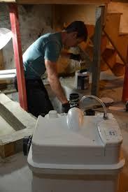 basement bathroom design ideas and the worst job in plumbing