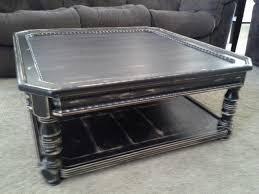 tudor dark oak rectangular distressed coffee table modern