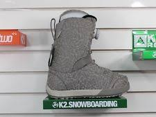 womens grey boots size 9 k2 9 us snowboard boots ebay