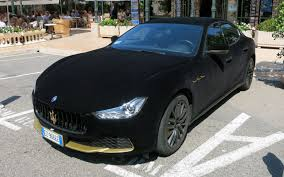 suv maserati black velvet maserati ghibli is a black cat in monaco u0027s casino square