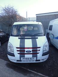 van ford transit ford transit panel van conversion 2009 sold motorhomes for