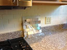 Experiences With Stainless Steel Subway Tile Backsplash - Cutting stainless steel backsplash