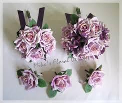 silk wedding flower packages silk wedding flowers artificial and orchid bridal flower package jpg