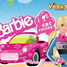 barbie car bike games
