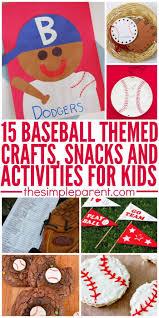 best 25 baseball crafts kids ideas on pinterest sports baseball