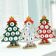 Mini Wooden Christmas Tree Decorations by Popular Christmas Mini Wood Ornaments Buy Cheap Christmas Mini