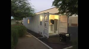 stunning glendale shipping container home 300 sq ft youtube