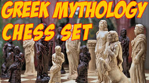 amazon chess set design toscano gods of greek mythology chess set greek gods chess