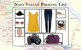 Vacaville Outlets Map What To Pack And Wear In The Napa Valley The Visit Napa Valley Blog