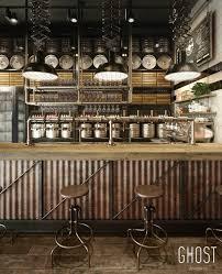 Industrial Decor Best 10 Industrial Restaurant Design Ideas On Pinterest
