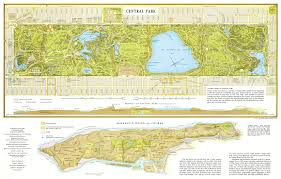 New York On The Map by Large Detailed Map Of Central Park Manhattan Nyc New York