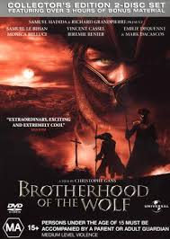 brotherhood of the wolf pacte des loups le 2001