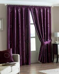 Aubergine Curtains Horizon Aubergine Faux Silk Pencil Pleat Curtains Curtains