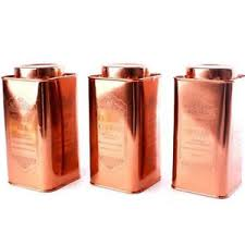 copper canisters kitchen copper canisters sugar coffee tea kitchen storage 20cm cans