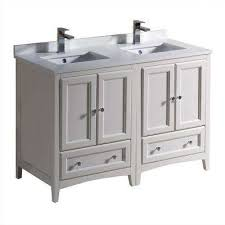 Bathrooms With Double Vanities 48 Inch Vanities Double Sink Vanities With Tops Bathroom