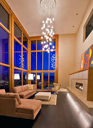 Lighting For Living Room With High Ceiling Chandelier For High Ceiling Bedroom Boscocafe