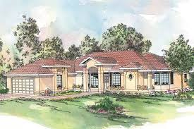 Spanish Homes Plans by Spanish Style House Plans Richmond 11 048 Associated Designs