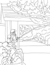 coloring pages fire safety coloring pages childrens fire safety